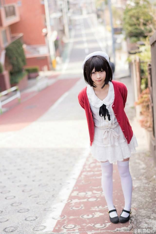 Saenai Heroine no Sodatekata Megumi Katou anime cosplay 001