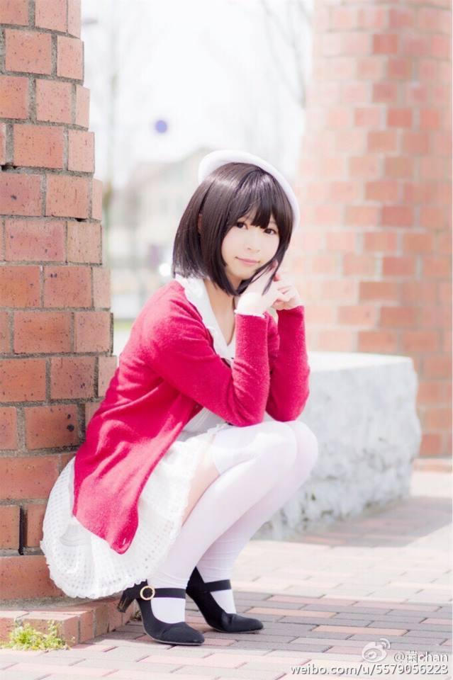 Saenai Heroine no Sodatekata Megumi Katou anime cosplay 002