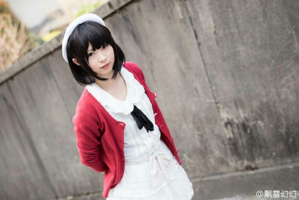 Saenai Heroine no Sodatekata Megumi Katou anime cosplay 004