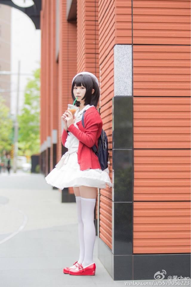 Saenai Heroine no Sodatekata Megumi Katou anime cosplay 006