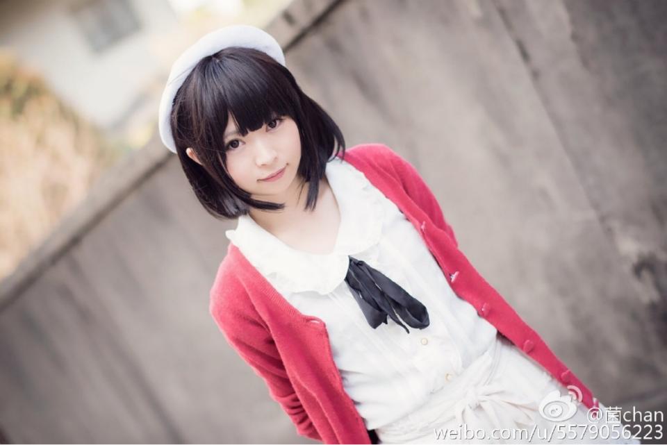 Saenai Heroine no Sodatekata Megumi Katou anime cosplay 007