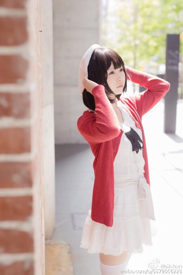 Saenai Heroine no Sodatekata Megumi Katou anime cosplay 008