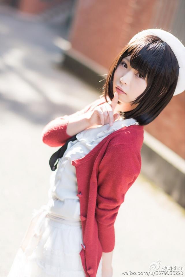 Saenai Heroine no Sodatekata Megumi Katou anime cosplay 009