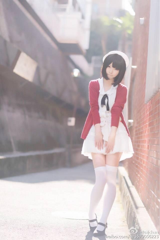 Saenai Heroine no Sodatekata Megumi Katou anime cosplay 010