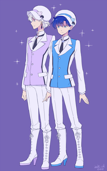 Sailor Moon Characters Take a Shot at Yuri Kuma Arashi haruhichan.com Saphir Prince demand anime