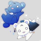 Sailor Moon Characters Take a Shot at Yuri Kuma Arashi haruhichan.com Saphir Prince demand bears