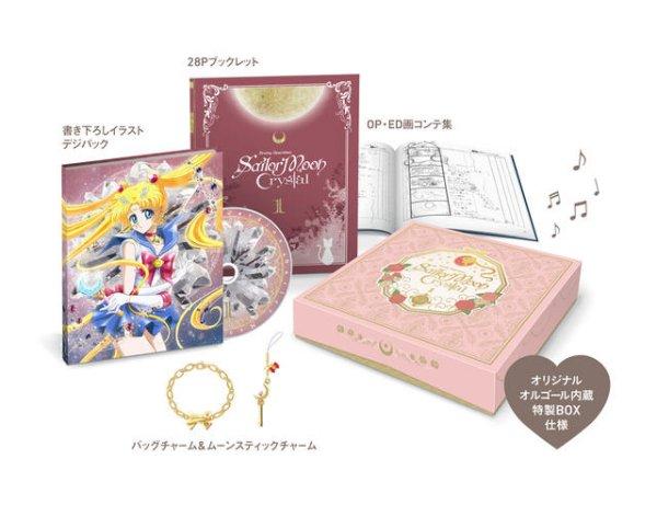 Sailor Moon Crystal Anime DVD BD Release Announced 13