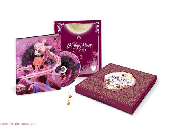Sailor Moon Crystal Anime DVD BD Release Announced 2