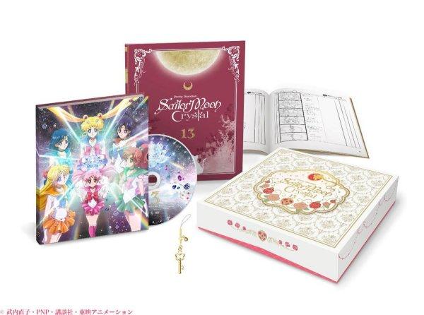 Sailor Moon Crystal Anime DVD BD Release Announced