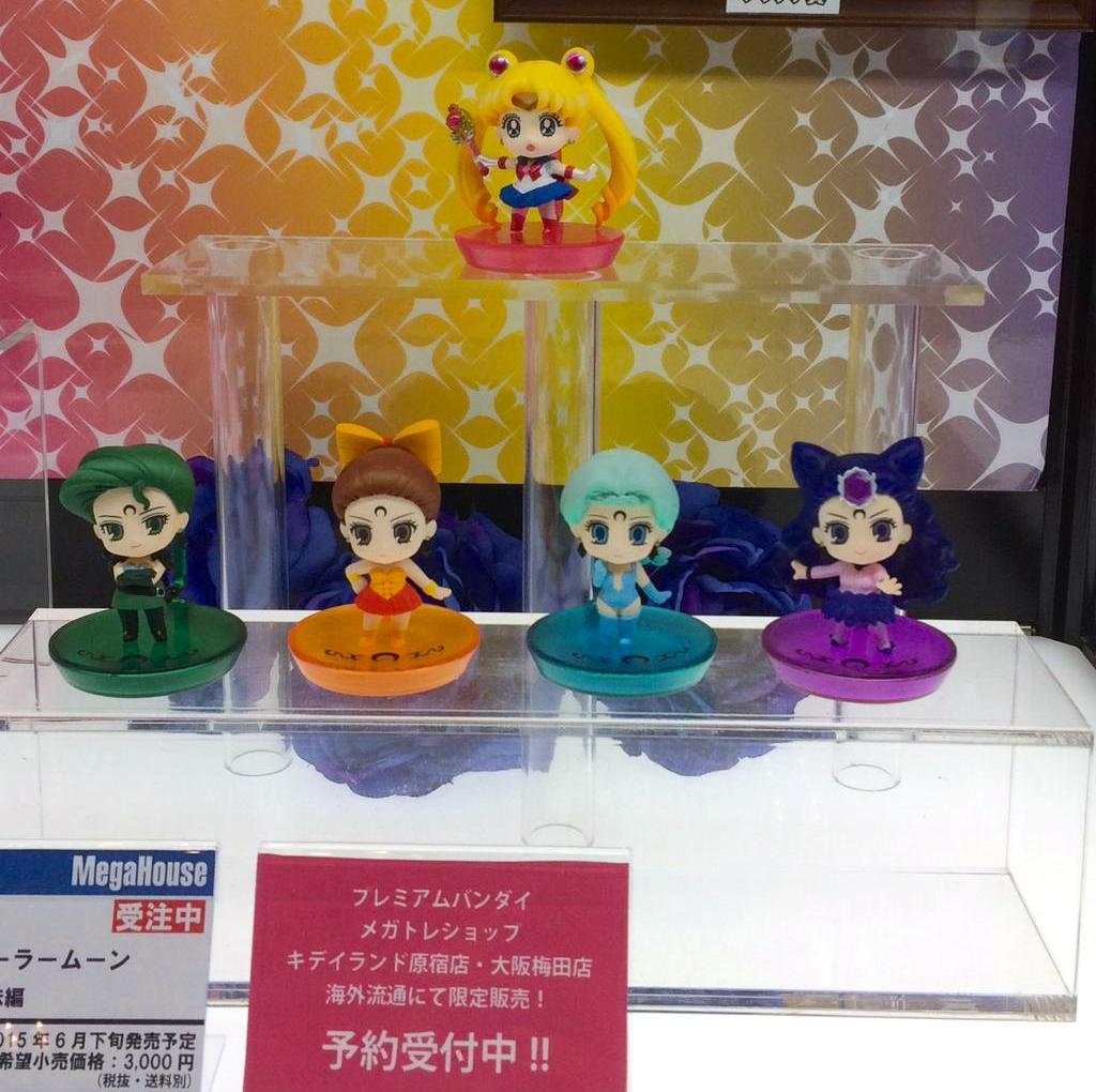 Sailor Moon Figures Revealed at Winter Wonder Festival 20155 haruhichan.com Sailor Moon Crystal Figures 11