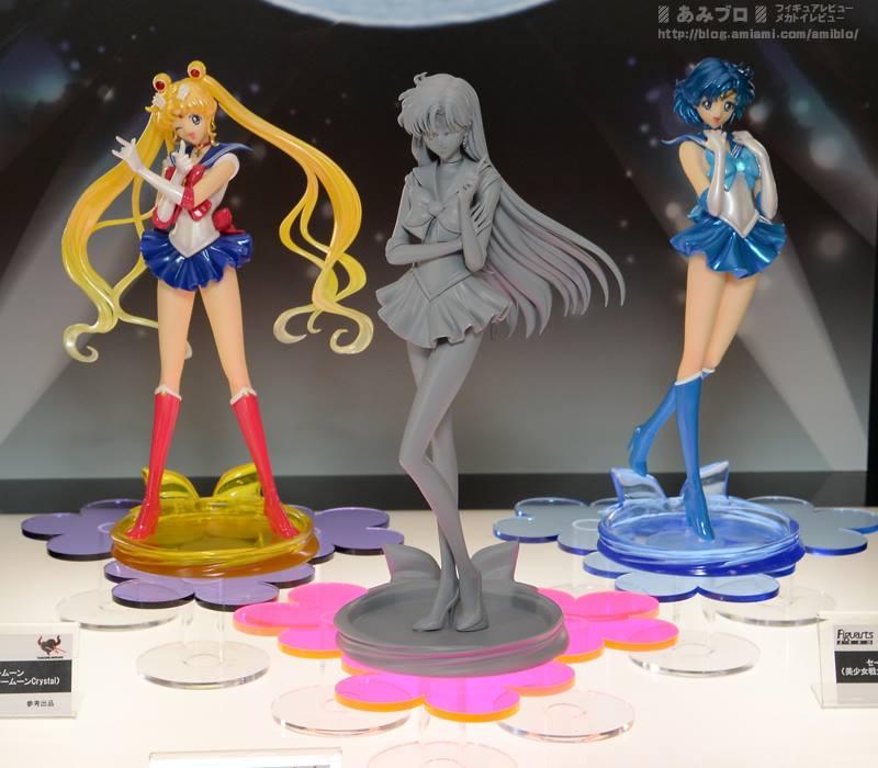 Sailor Moon Figures Revealed at Winter Wonder Festival 20155 haruhichan.com Sailor Moon Crystal Figures 12