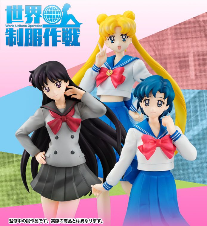 Sailor Moon Figures Revealed at Winter Wonder Festival 20155 haruhichan.com Sailor Moon Crystal Figures 8