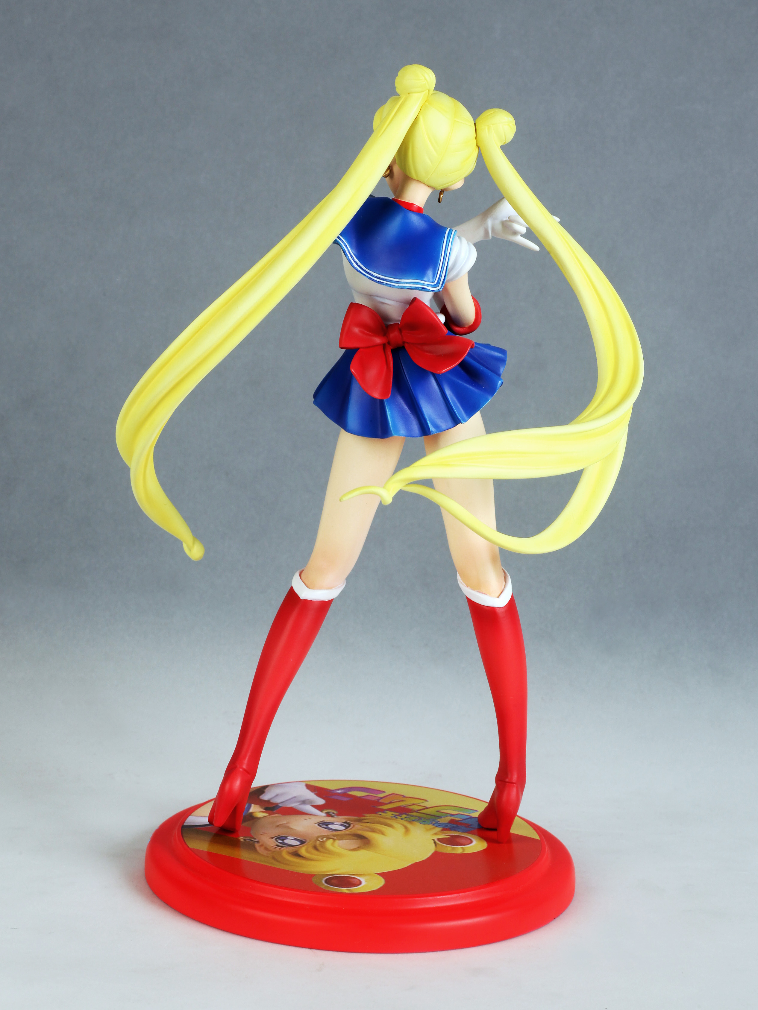 Sailor Moon Usagi Tsukino prepainted figure haruhichan.com Sailor Moon Anime figure 01