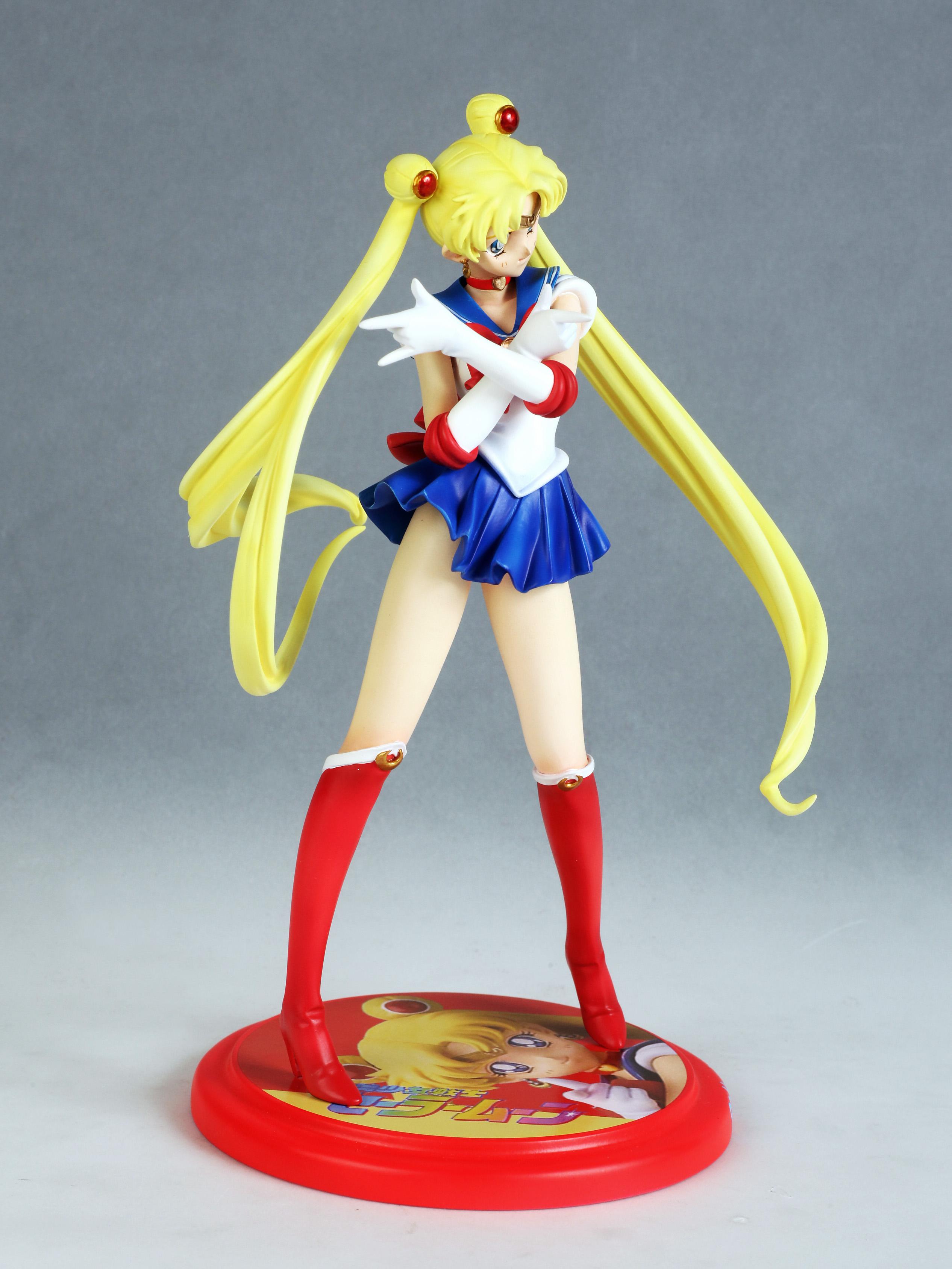 Sailor Moon Usagi Tsukino prepainted figure haruhichan.com Sailor Moon Anime figure 03