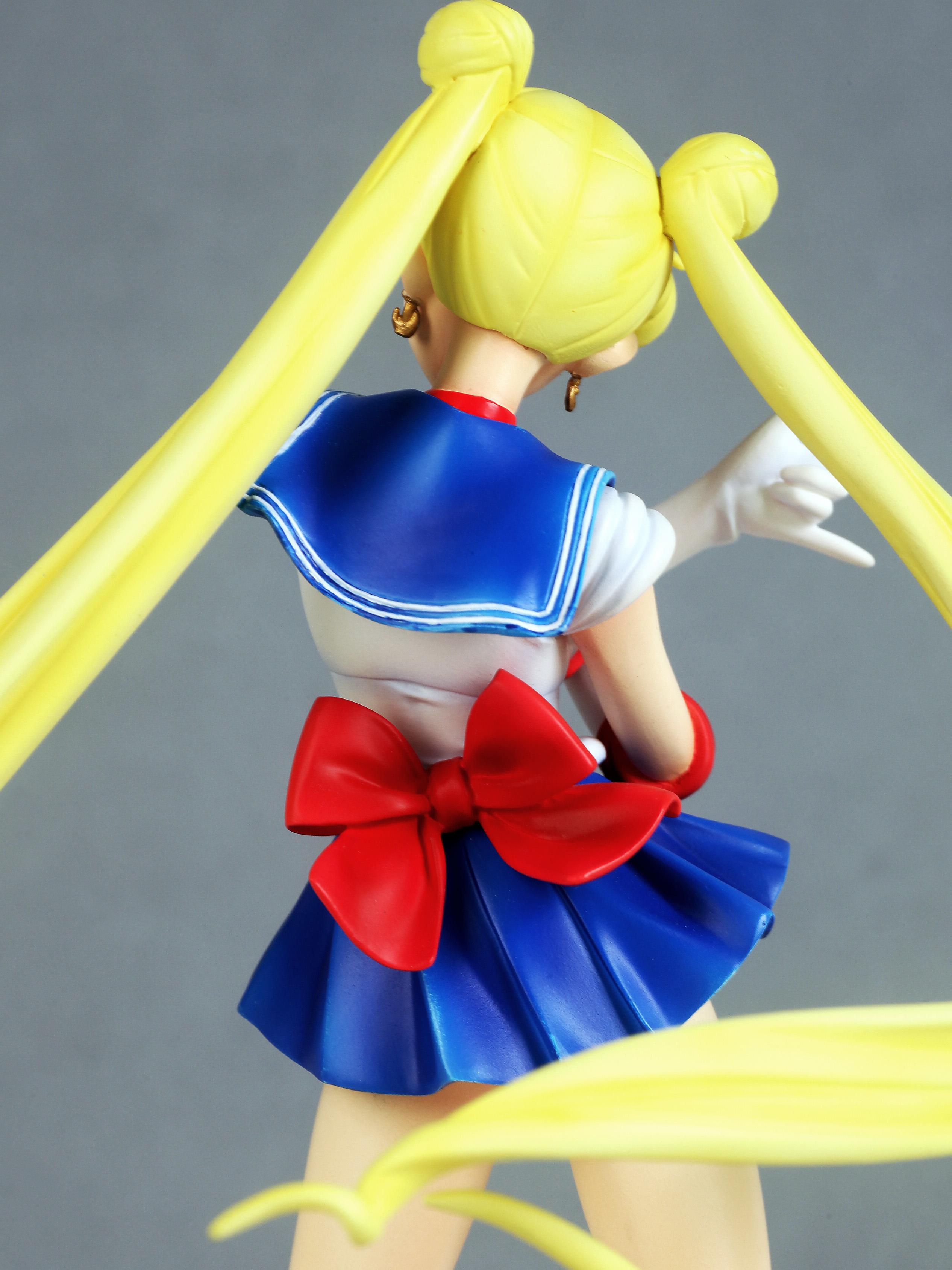 Sailor Moon Usagi Tsukino prepainted figure haruhichan.com Sailor Moon Anime figure 07