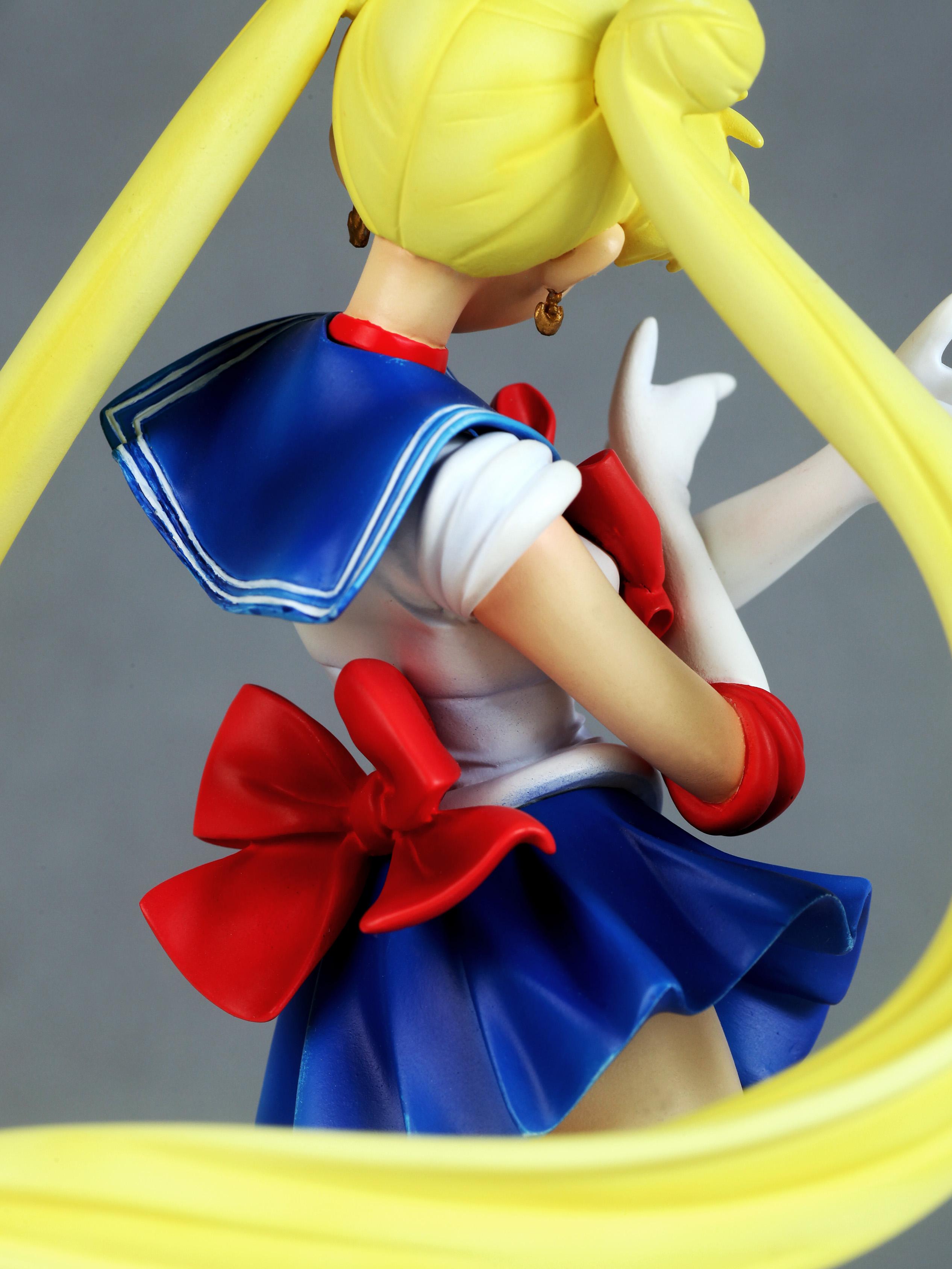 Sailor Moon Usagi Tsukino prepainted figure haruhichan.com Sailor Moon Anime figure 10