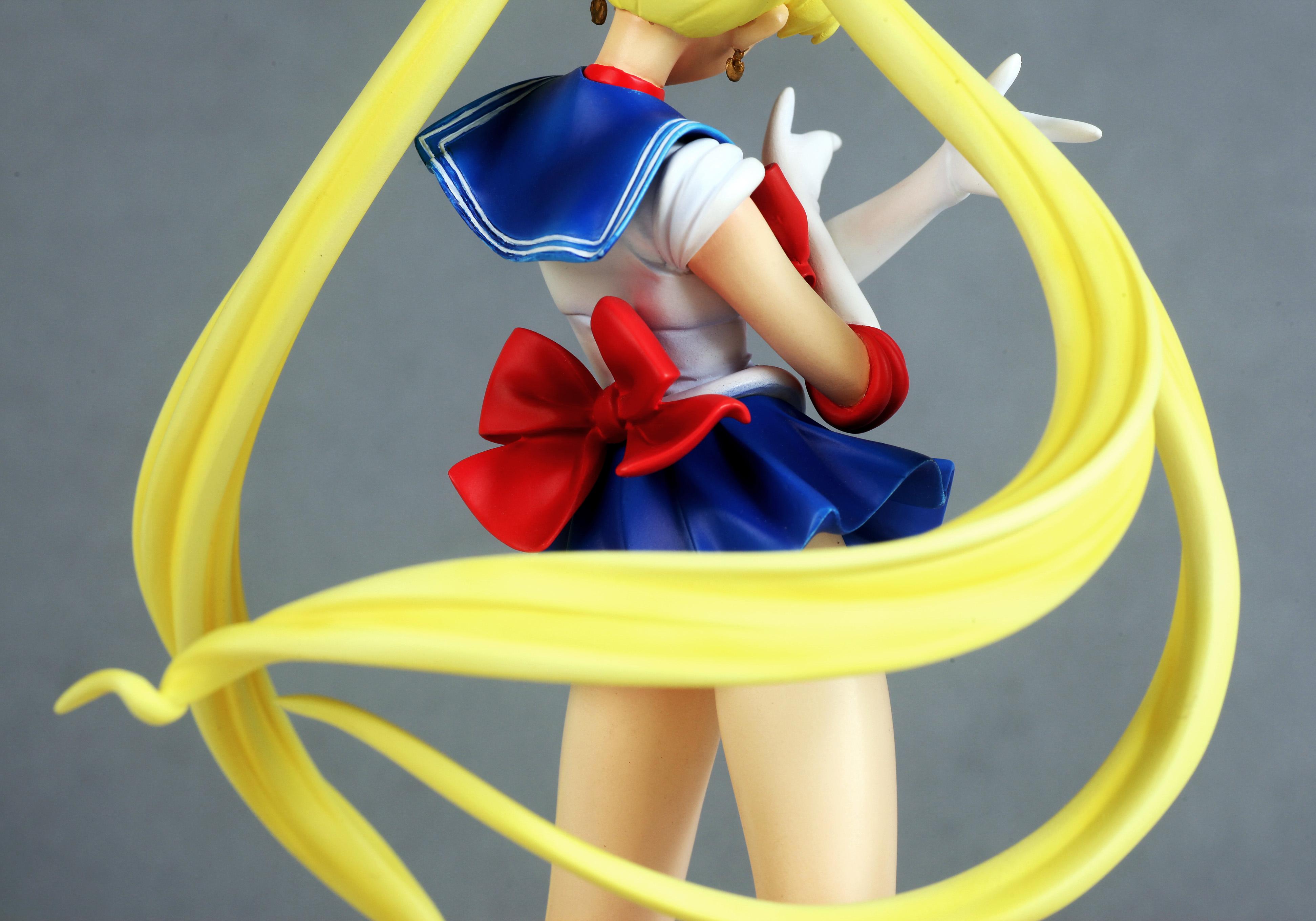 Sailor Moon Usagi Tsukino prepainted figure haruhichan.com Sailor Moon Anime figure 11