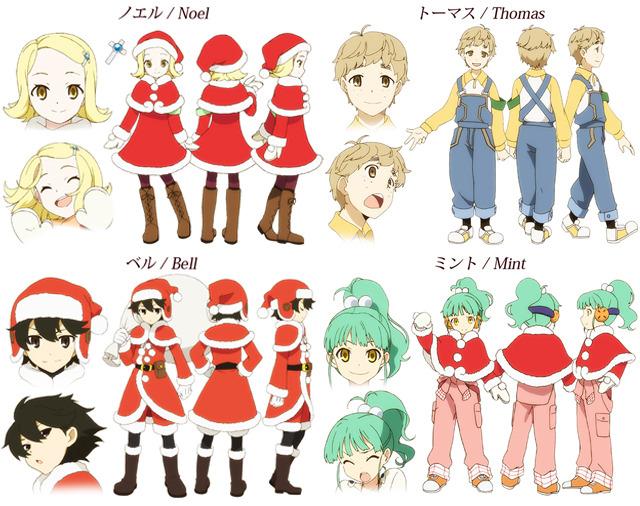 Santa Company Characters (2)