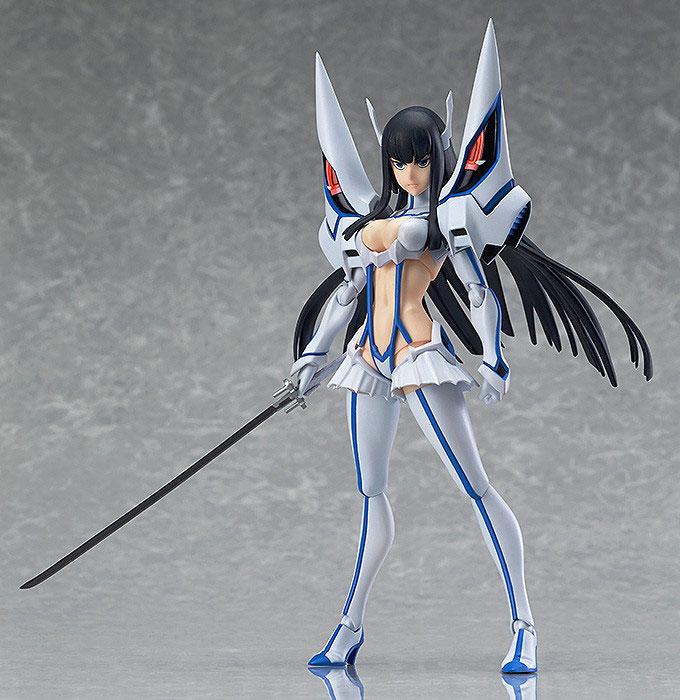 Satsuki Kiryuin Prepares for Battle with Junketsu haruhichan.com Satsuki Kiryuin Kill la Kill figma 00