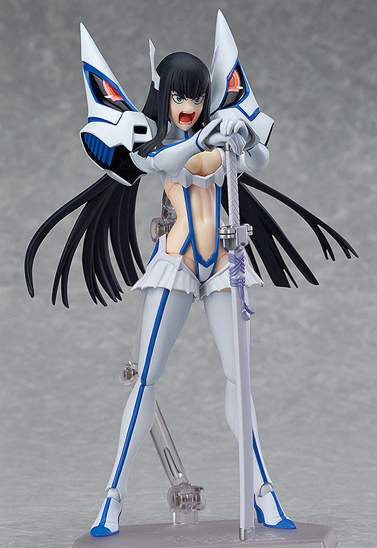 Satsuki Kiryuin Prepares for Battle with Junketsu haruhichan.com Satsuki Kiryuin Kill la Kill figma 01
