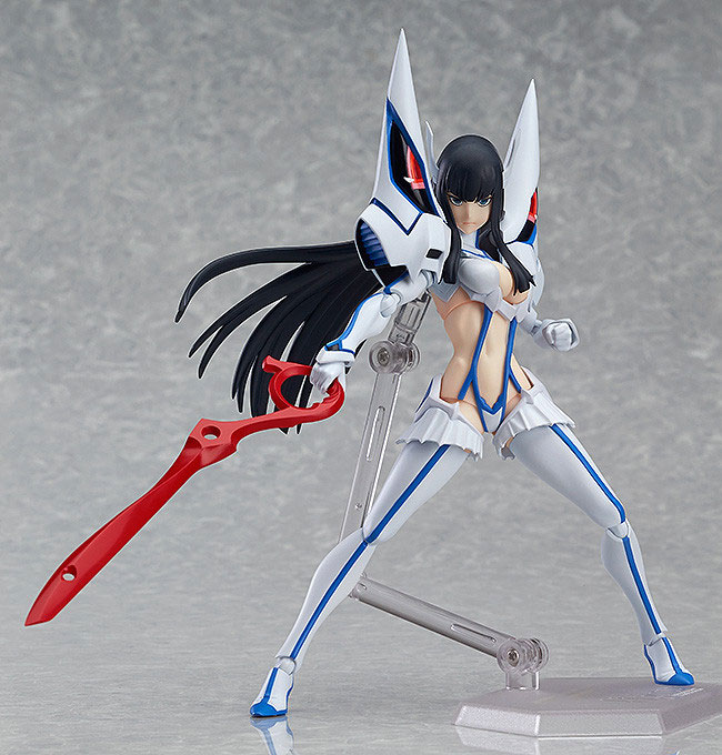 Satsuki Kiryuin Prepares for Battle with Junketsu haruhichan.com Satsuki Kiryuin Kill la Kill figma 02