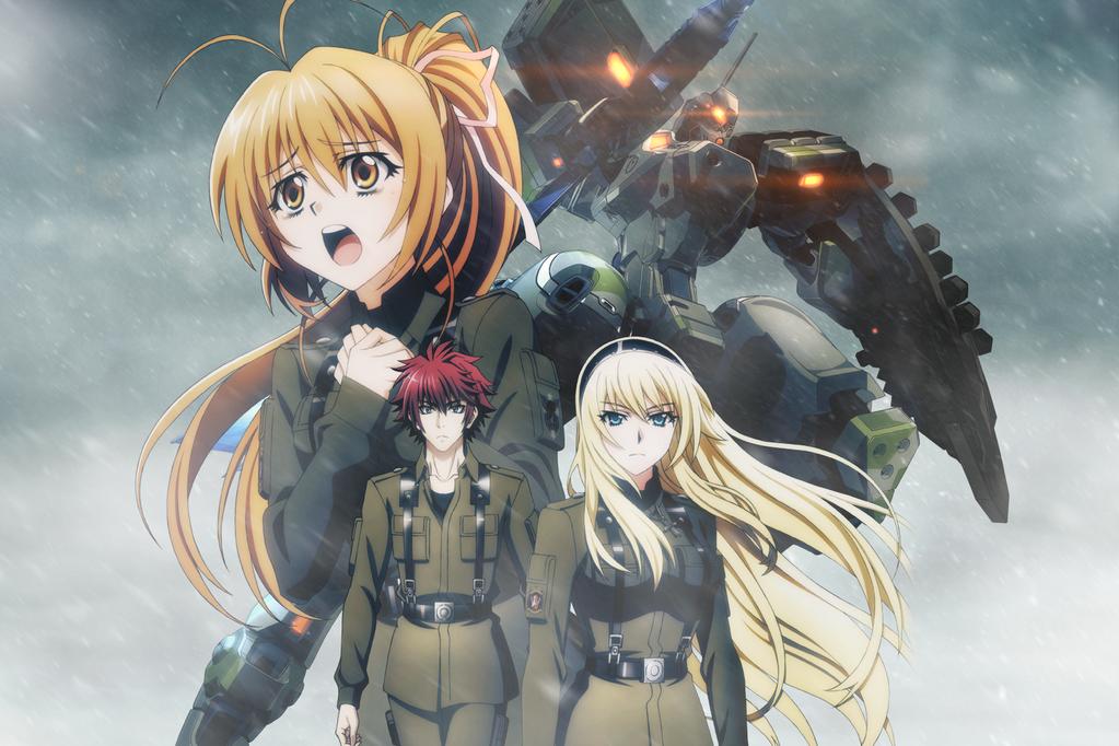 Schwarzesmarken anime visual