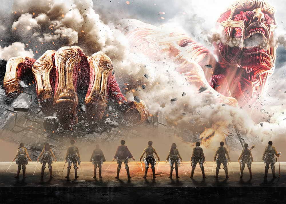 Second Live-Action Attack on Titan Film Visuals Revealed 2