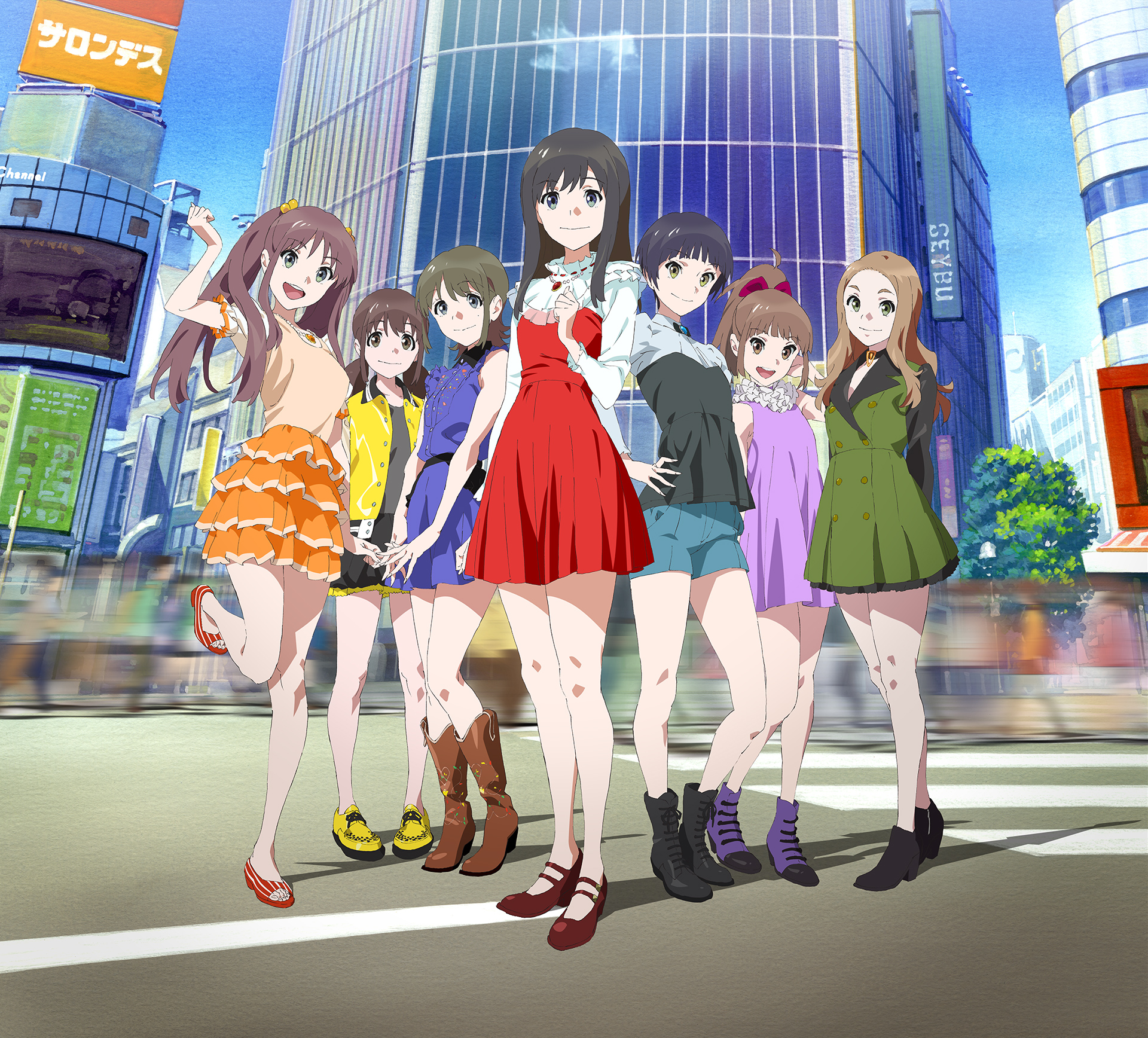 Second Wake up Girls! Movie Announced for 2015 Visual haruhichan.com Wake Up Girls Film 2015