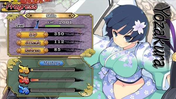 Senran Kagura Versus Rips onto Steam 4
