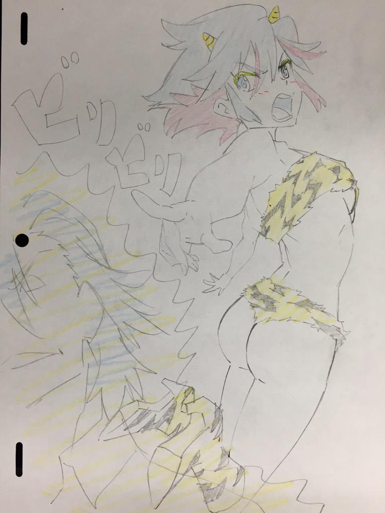 Setsubun Celebrated with Illustrations haruhichan.com kill la kill by kengo1212