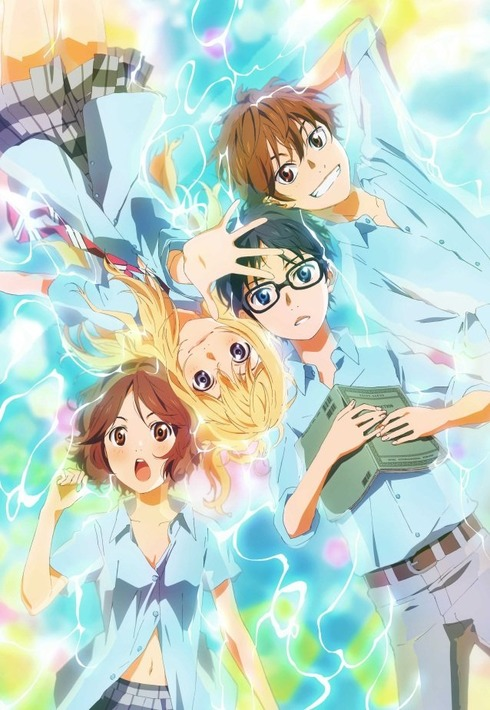 Shigatsu wa Kimi no Uso anime visual haruhichan.com Your Lie in April anime