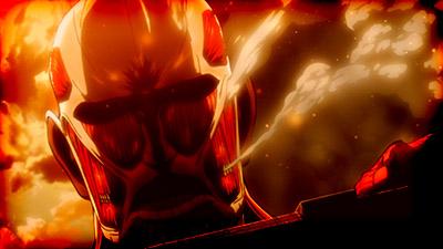 Shingeki no Kyojin Movie 1 Guren no Yumiya Attack on Titan Crimson Bow and Arrow movie Colossal Titan