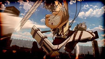 Shingeki no Kyojin Movie 1 Guren no Yumiya Attack on Titan Crimson Bow and Arrow movie Eren Yeager