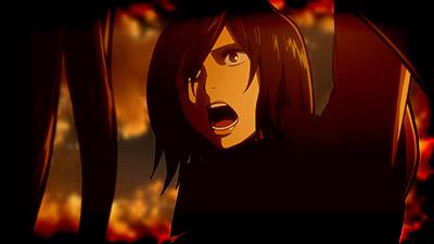 Shingeki no Kyojin Movie 1 Guren no Yumiya Attack on Titan Crimson Bow and Arrow movie Mikasa Ackerman