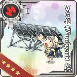 Ship Girls from KanColle Celebrate Valentines and Winter Event Is Live haruhichan.com Kantai Collection browser game WG42 (Wurfgerät 42)