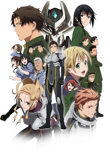 Shirogane no Ishi Argevollen anime key visual