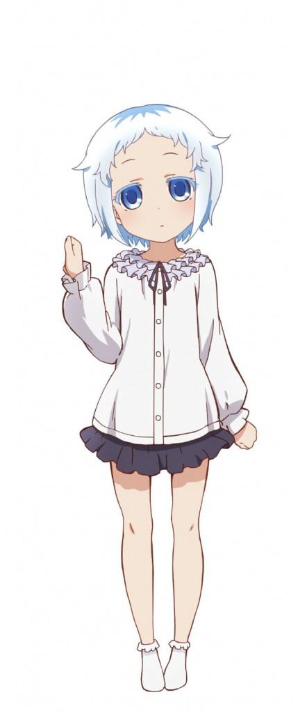 Shomin Sample Character Design - Hakua Shiodome_Haruhichan.com_
