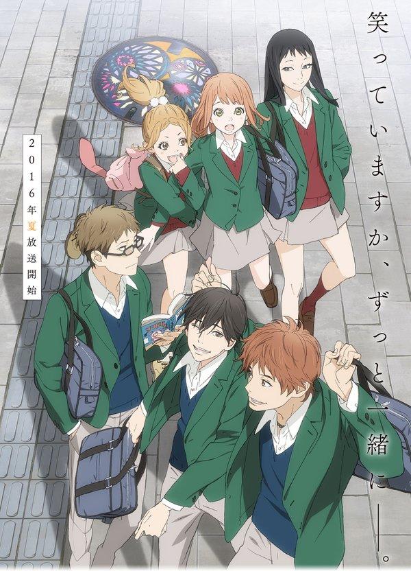 Shoujo Manga Orange Receives TV Anime Slated for Summer 2016