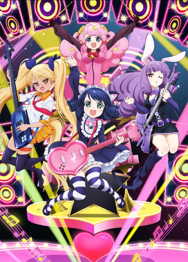 Show By Rock!! Anime Visual_Haruhichan.com_