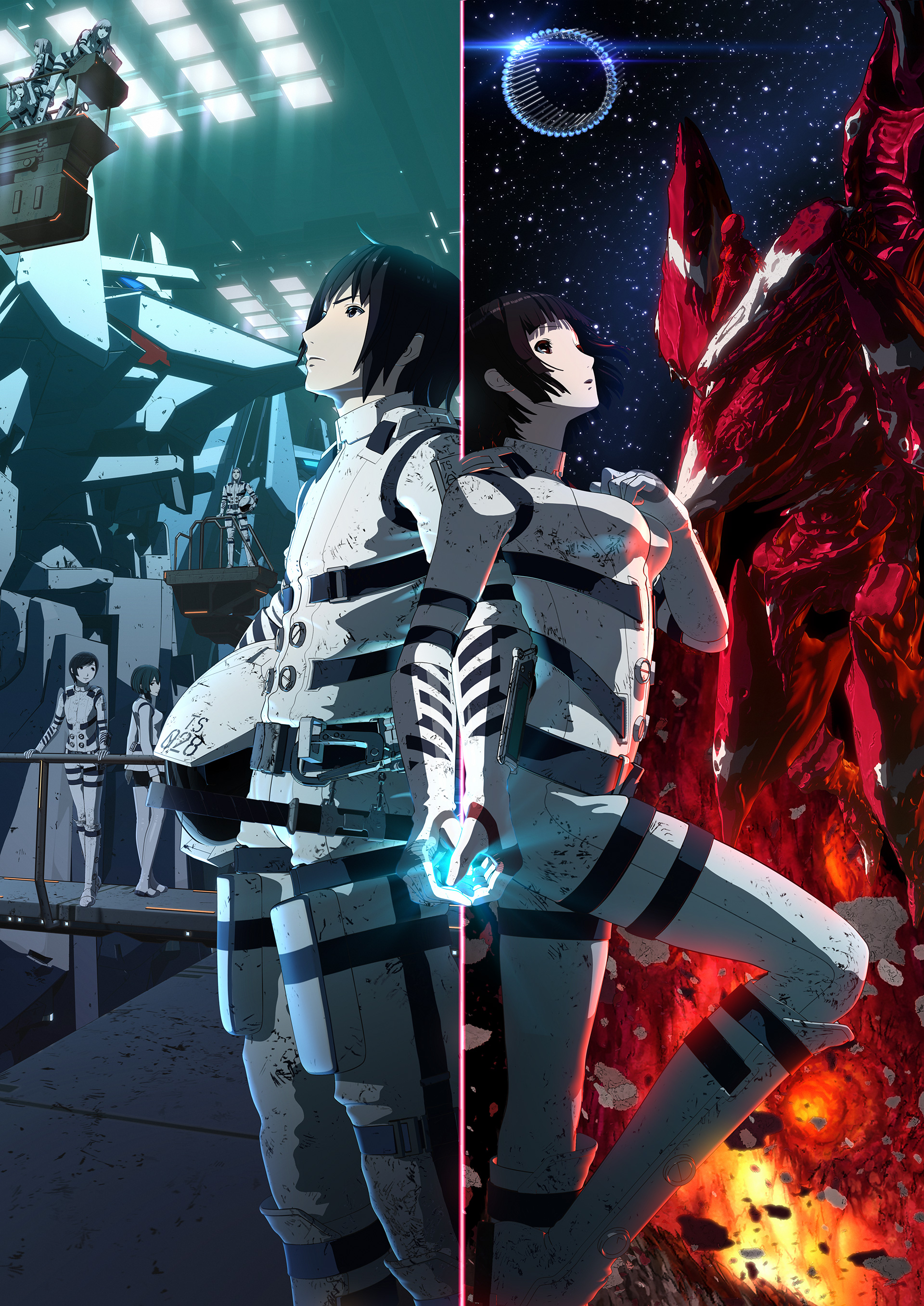Sidonia no Kishi Movie Visual haruhichan.com Knights of Sidonia movie visual