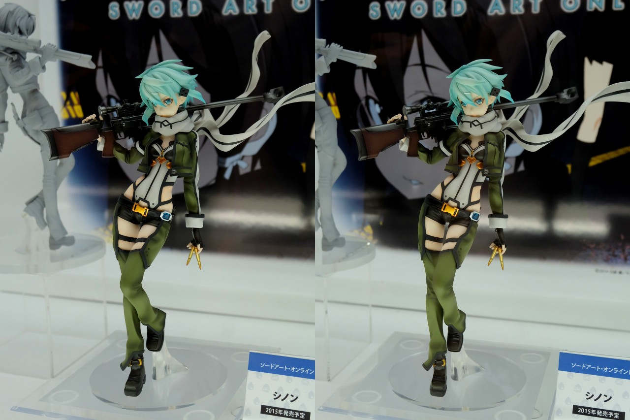 Sinon from Sword Art Online Gets Another Figurine haruhichan.com Sword Art Online II Sinon Figure 00