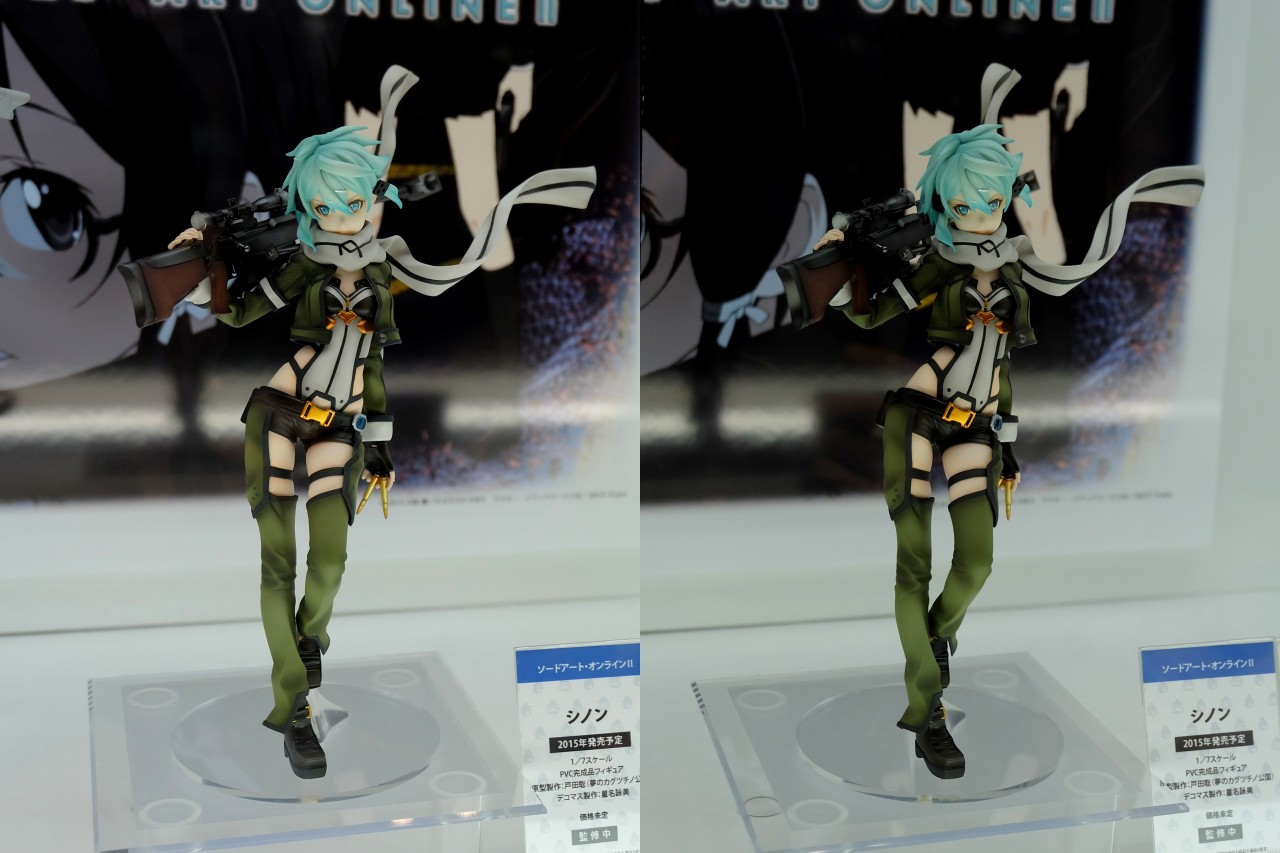 Sinon from Sword Art Online Gets Another Figurine haruhichan.com Sword Art Online II Sinon Figure 01