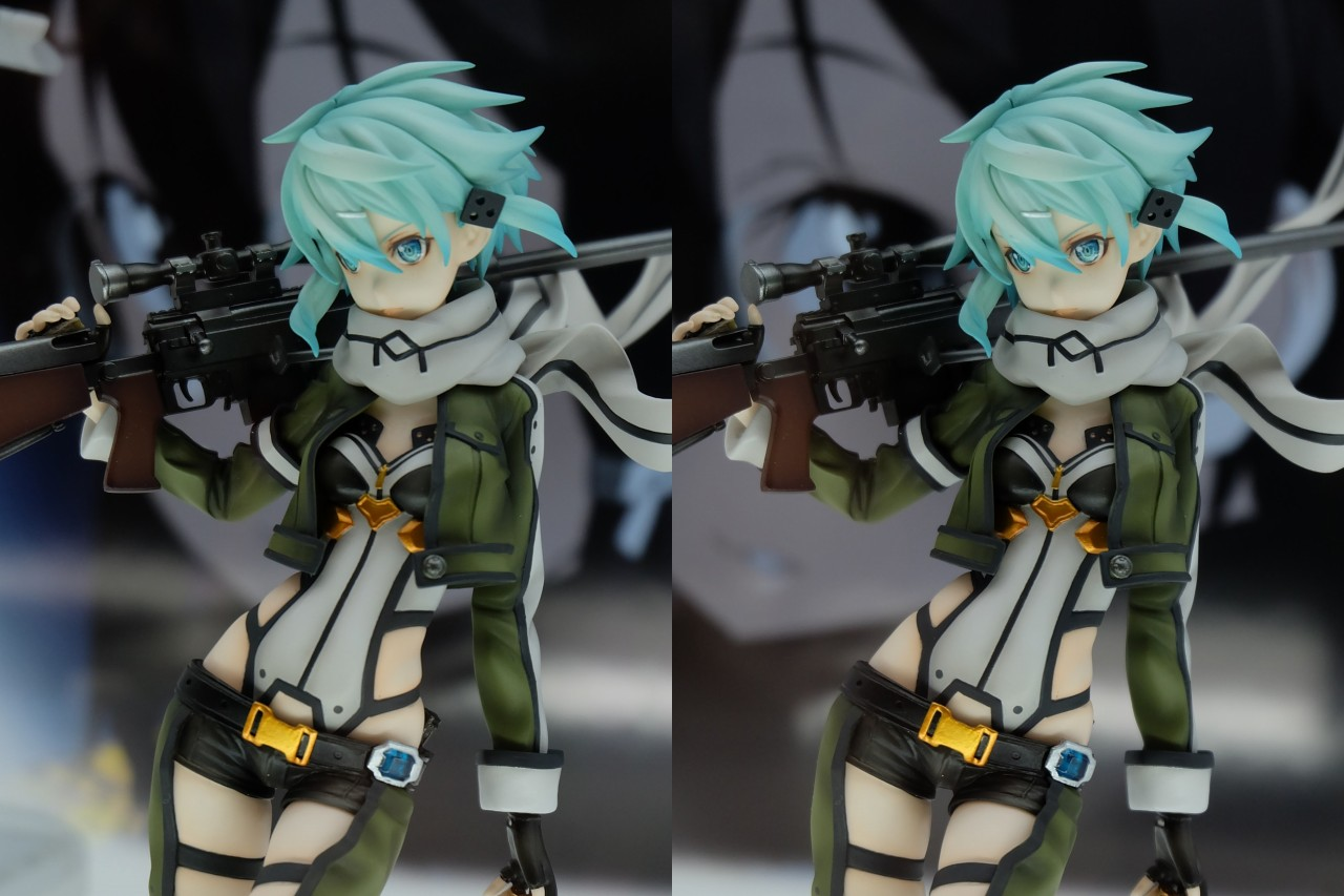 Sinon from Sword Art Online Gets Another Figurine haruhichan.com Sword Art Online II Sinon Figure 02