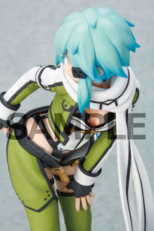 Sinon the Skilled VRMMO Player Gets a Suggestive Figure haruhichan.com sword art online ii sinon anime figure 03