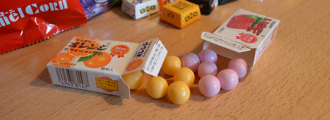 Snack Reviews December Japanese Snack Subscription from Shikibox Haruhichan.com Fruit Chewing Gums