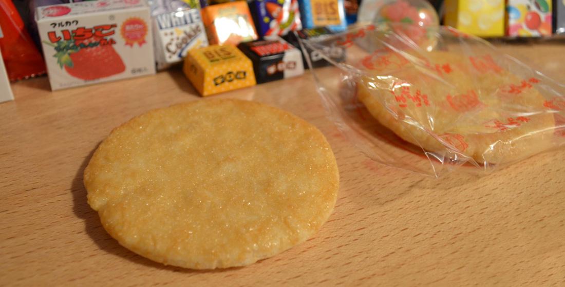 Snack Reviews December Japanese Snack Subscription from Shikibox Haruhichan.com Pota pota yaki crackers