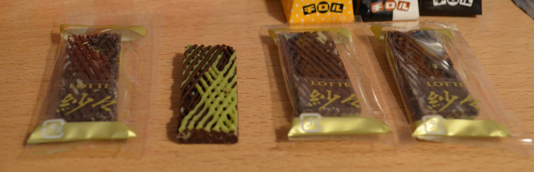 Snack Reviews December Japanese Snack Subscription from Shikibox Haruhichan.com Sasha chocolates