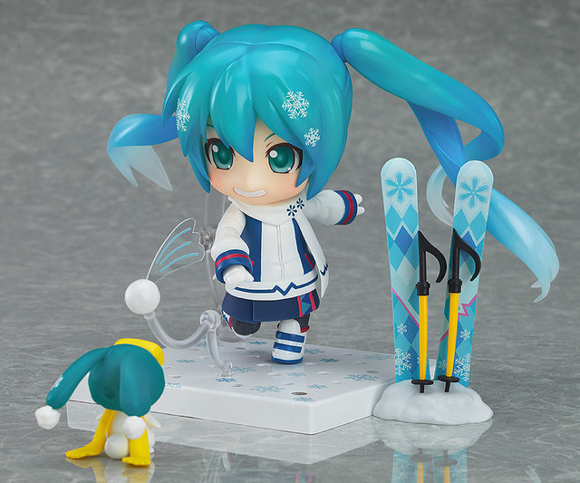 Snow Miku Figure 8