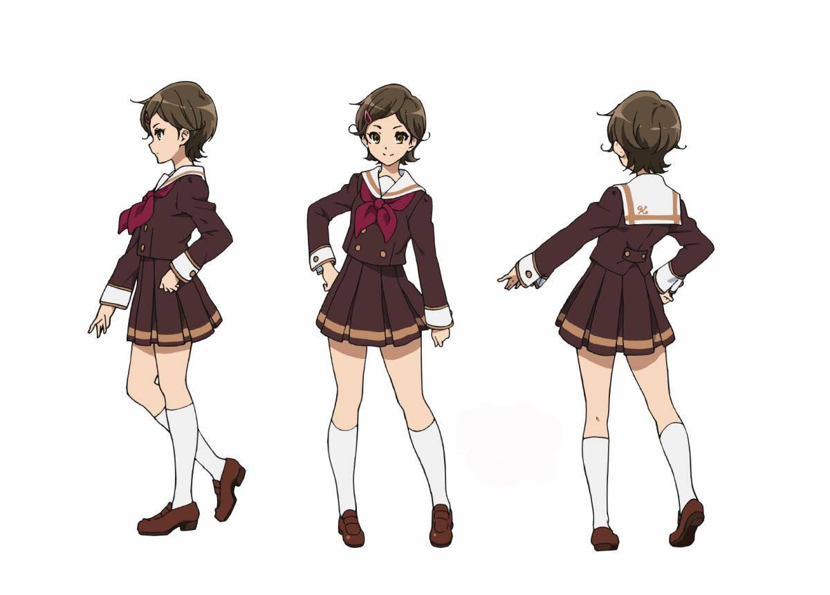 Sound! Euphonium character designs kyoto animation Haruhichan.com Hibike! Euphonium Kitauji Koukou Suisougaku-bu e Youkoso kyoani 2