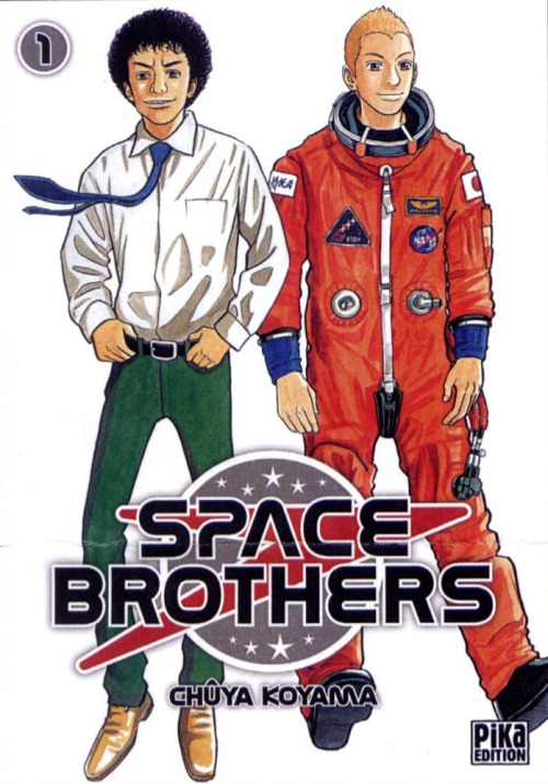 Space Brothers Manga Cover volume 1